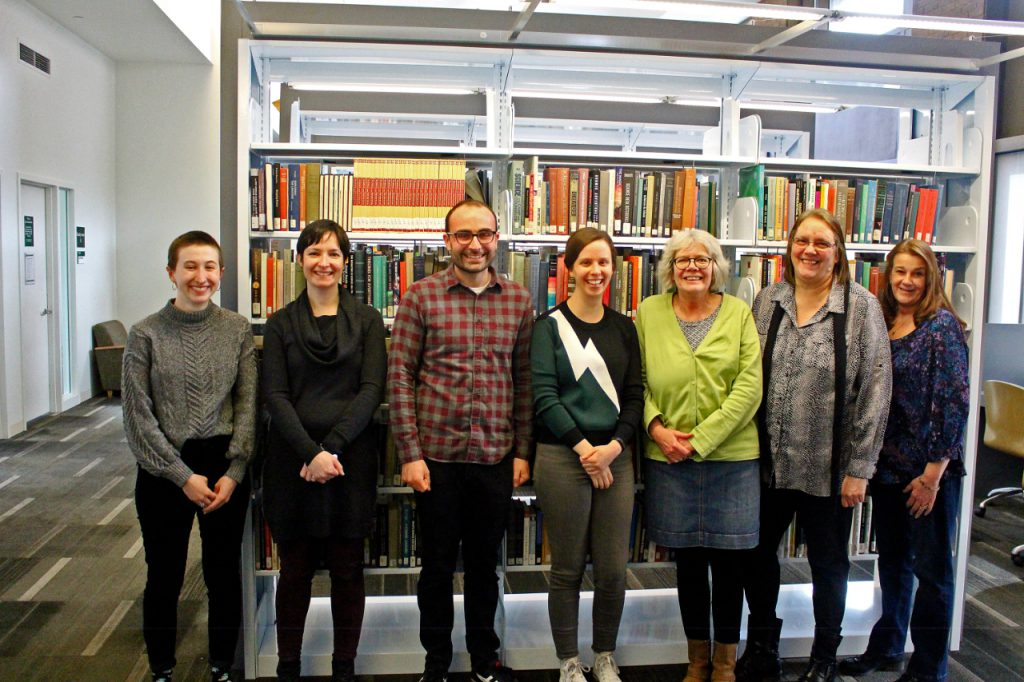 Library Staff March 2018