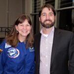 Chris Doyle with NASA astronaut Cady Coleman
