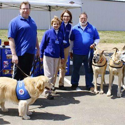 Bright Spot Therapy Dogs GCC event