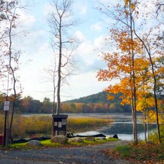 Hiking East Leverett Trails