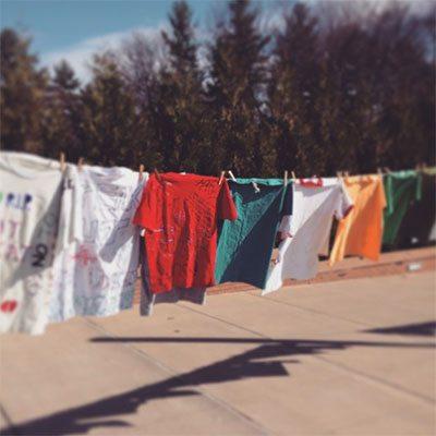 Clothesline Project GCC event
