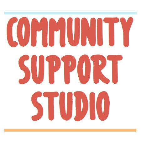 Community Support Studio Open House GCC event