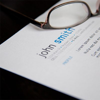 Resume & Cover Letter Review