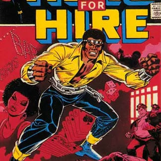Marcus McLaurin: Luke Cage—The First Black Superhero GCC event