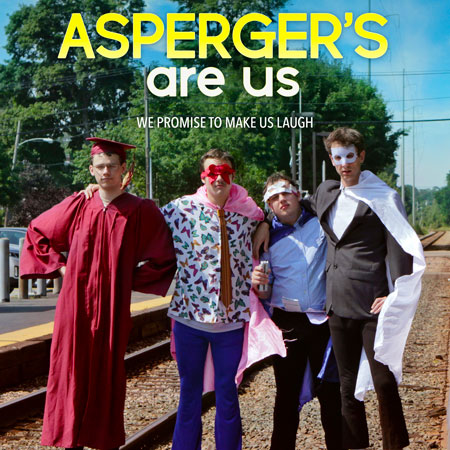 Asperger's Are Us Sketch Comedy Troupe GCC event