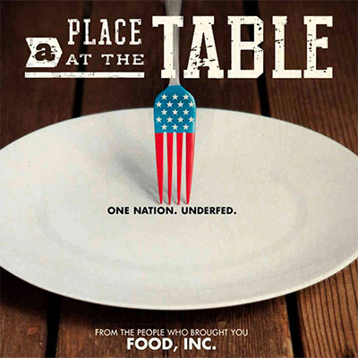 Friday Film Series: A Place at the Table GCC event