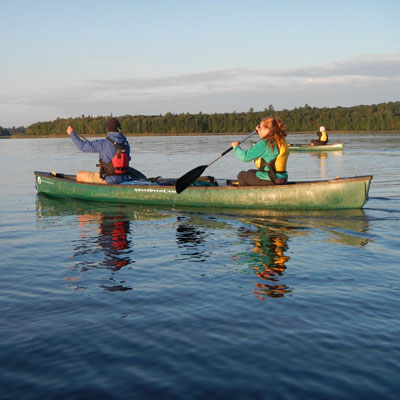 OLP Canoe Trip GCC event