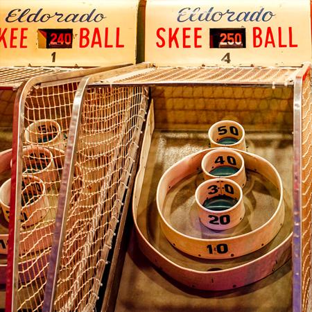 Basketball & Skee Ball GCC event