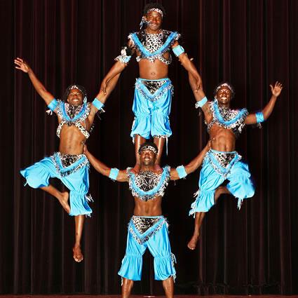 Zuzu African Acrobats GCC event